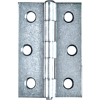 Zinc Non-removable Hinges, PP518 ~ 2.5""