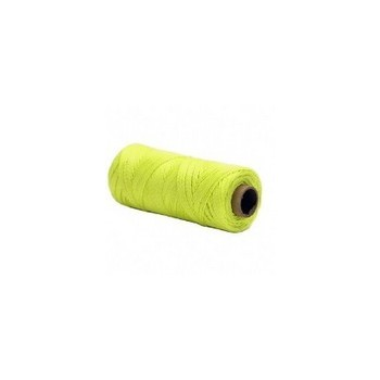 Opti-Brite Neon Yellow Twisted Nylon Seine Twine, #18 x 500'