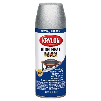 High Heat Max Spray Finish, Aluminum ~ 12 oz Cans