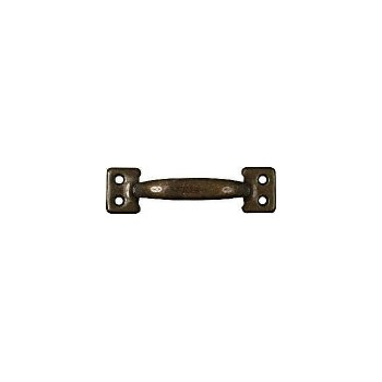 Antique Brass Bar Type Sash Lift, Visual Pack 170 4 inches