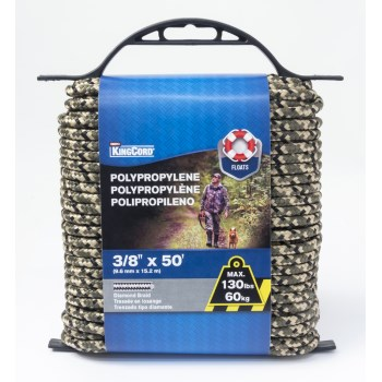 3/8in. X50ft. Poly Rope