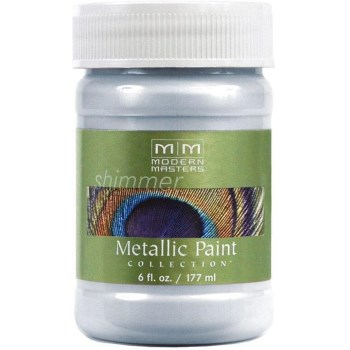 Metallic Paint, Flash Blue 6 Ounce