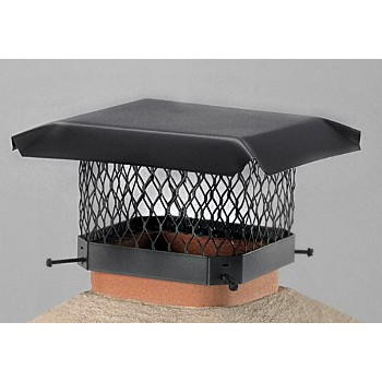 Hy-C  SC1318 Chimney Cap, Galvanized Black 13 x 18 inch