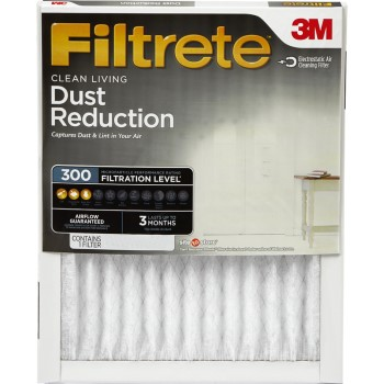 "3M 312DC-6 Dust Reduction Filters ~ 24"" x 24"" x 1"""
