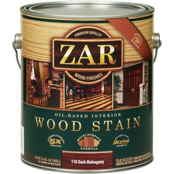 Wood Stain, Dark Mahogany ~ 1 Gallon