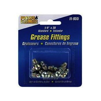 Standard Grease Fitting Assortment