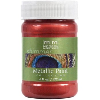Metallic Paint, Sashay Red 6 Ounce