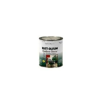 Rust-Oleum 7791504 7791 Qt Satin White Enamel Pnt