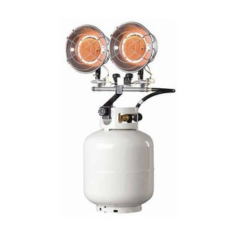 Propane Tank Top Heater ~ Dual Burner