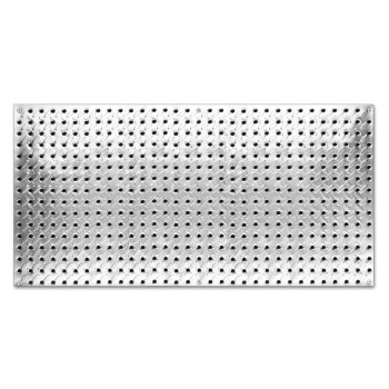 "Steel Pegboard, Heavyweight ~ 16"" x 32"""