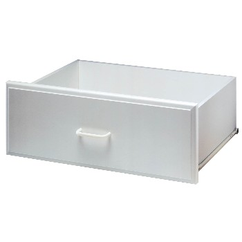 Deluxe Drawer, White ~ 8 x 24""