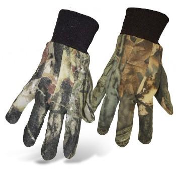 Boss 4200MOL Mossy Oak Camo Jersey Gloves ~ Laarge