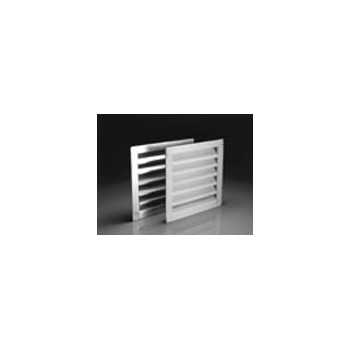Air Vent Inc 81202 Gable Ventilators - White - 12 x 12 inch