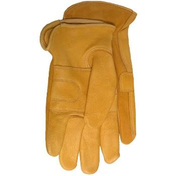 Boss 4086J Jum Unlnd Deerskin Glove