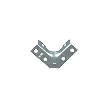 Zinc Corner Brace, Visual Pack 114 2 - 1 / 2 x 5 / 8 inches