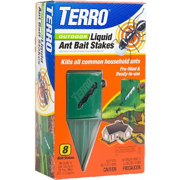 Ant Bait Stakes, Liquid ~ Outdoor