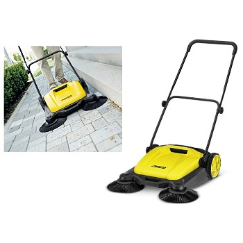 Outdoor Sweeper,  Dual Brush