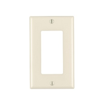 Decora Standard Wall Plate ~ Light Almond