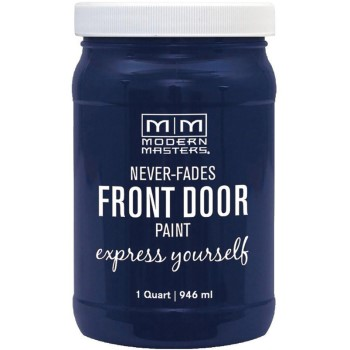 Express Yourself Front Door Satin Paint, Peaceful ~ Quart