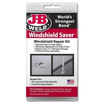 J-B Weld 2100 Windshield Saver Windshield Repair Kit