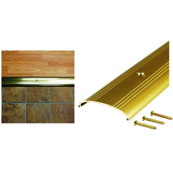 M-D Bldg Prods 09415 Threshold, Low Boy, Bright Gold Finish  ~ 36""