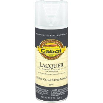 Interior Lacquer  Spray, Semi-Gloss ~ 11.5 oz