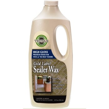Trewax Gold Label Sealer Wax, Gloss Finish ~ 32 oz