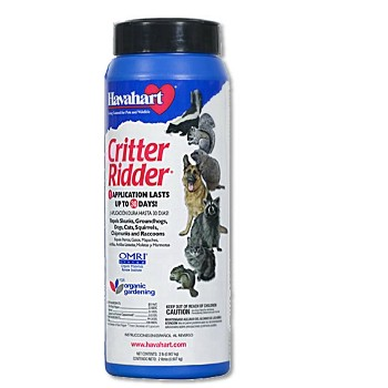 Critter Ridder Animal Repellent, Shake Can ~  2 lbs.