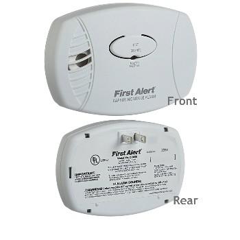 First Alert/Brk CO600 Electronic Carbon Monoxide Sensor