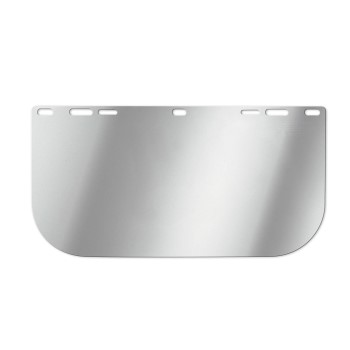 "Replacement Bound Faceshield Window, Clear  ~ 8"" x 12"""
