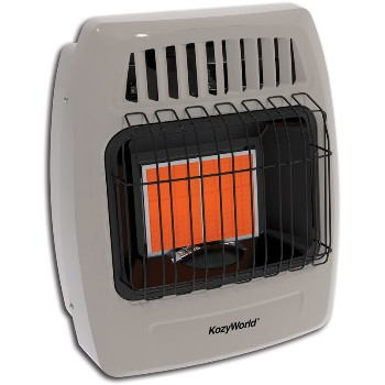 Dual Gas Fuel  Infrared Space Heater Wall Heater #KWD215, Vent Free ~ 12,000 BTU