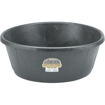Miller Mfg  HP-15 Rubber Heavy Duty Tub, 15 Gallon