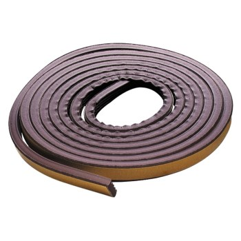 Weatherstrip, Extreme Temperature - 17' Brown