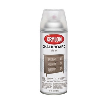 Chalkboard Paint, Clear  ~ 12 oz Spray