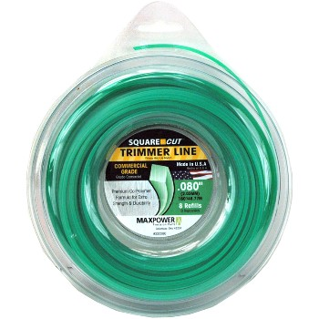 "Maxpower Parts 332280 Trimmer Line, .080"" x 160ft."