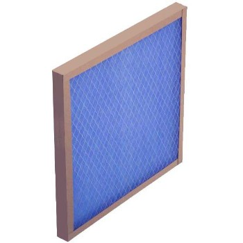 "ProtectPlus   116202-1 True Blue Fiberglass 2"" Thick Air Filter  ~ Approx 16"" x 20"" x 2"""