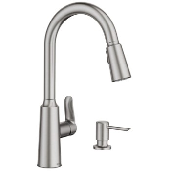 Edwyn Stainless One Handle High Arc Faucet