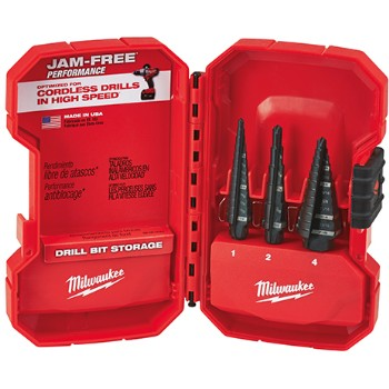 3pc Step Drill Bits