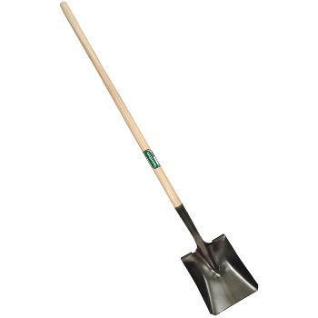 Square Point Shovel w/Wood Handle ~ 44""