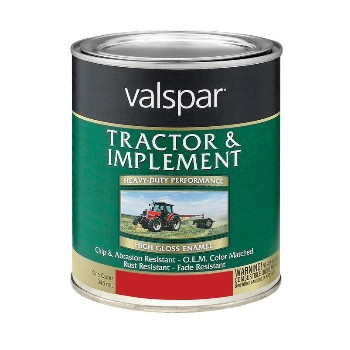Tractor and Implement Paint, Red ~ Quart