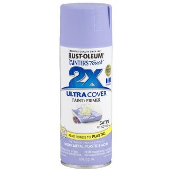 Rust-Oleum 249079 Painters Touch 2X Ultra, French Lilac Satin ~