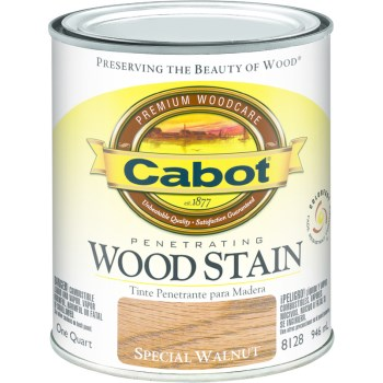 Interior Wood Stain,  Special Walnut ~ Quart
