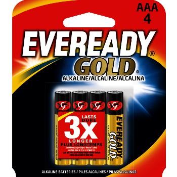 Energizer A92BP-4 Aaa Gold Alk Battery