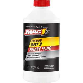 Mag1 Premium DOT 3 Brake Fluid ~ 12oz
