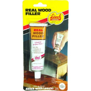 Leech Adhesive LWF-66 Real Wood Filler ~ 1.25 Ounce tube