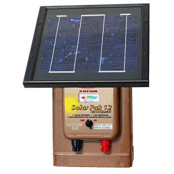 Fence Charger, Solar ~ 30 Mile Range