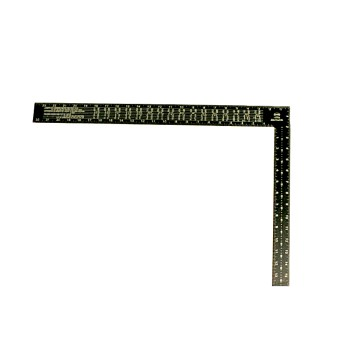 Black Steel Rafter Square