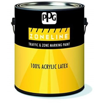 Ppg Architectural Finish/ Ppg Paint 11-54/01 1154 1g Yellow Traffic Paint