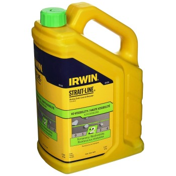Irwin 65106 Strait-Line Powdered Chalk,  Fluorescent Green ~ 5 lbs