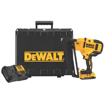 16 Gauge Angled Finish Nailer Kit ~ 20 volts